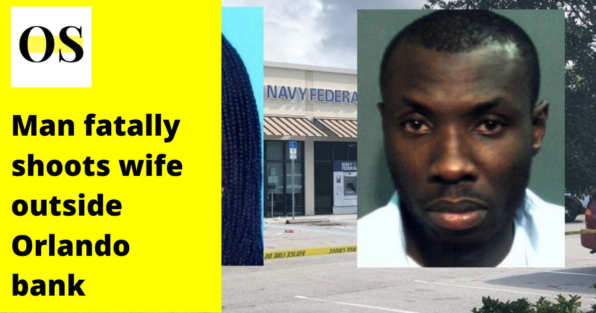 Man arrested for killing his wife outside Navy Federal Credit Union in Orlando 1