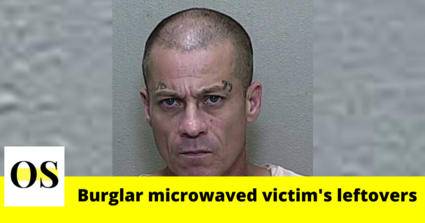47-year-old burglar microwaved victim's leftovers while breaking into in Marion County 5