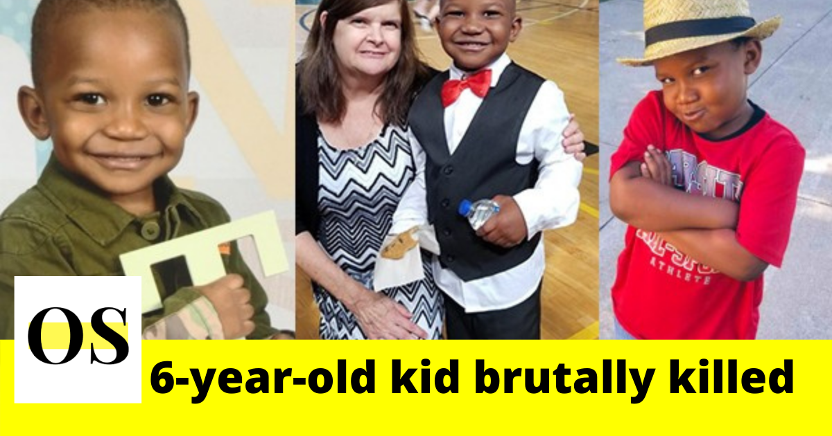 6-year-old kid brutally killed