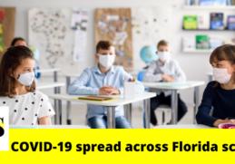 The recent data shows COVID-19 spread across Florida schools 3