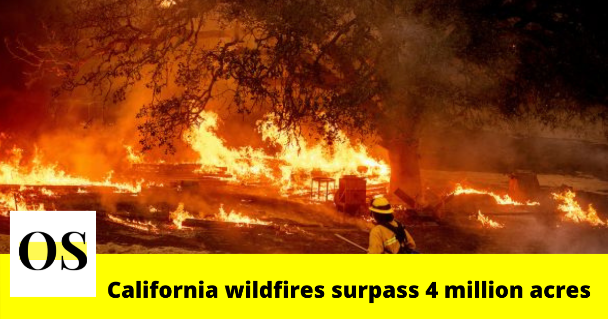 California wildfires surpass 4