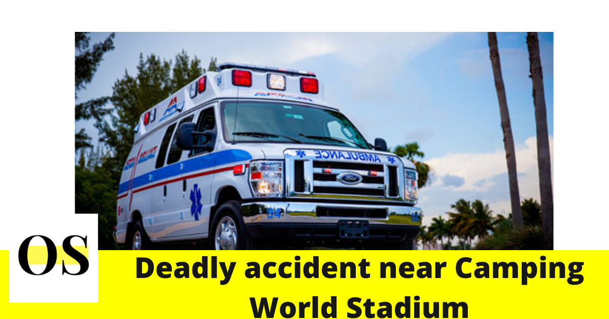 Person killed in crash near Camping World Stadium, Orlando 2