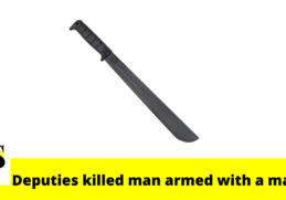 Polk County deputies shot and killed a man armed with a machete late Wednesday 5