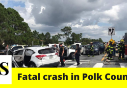 A stolen vehicle driven by a teen crashed in Polk County 3