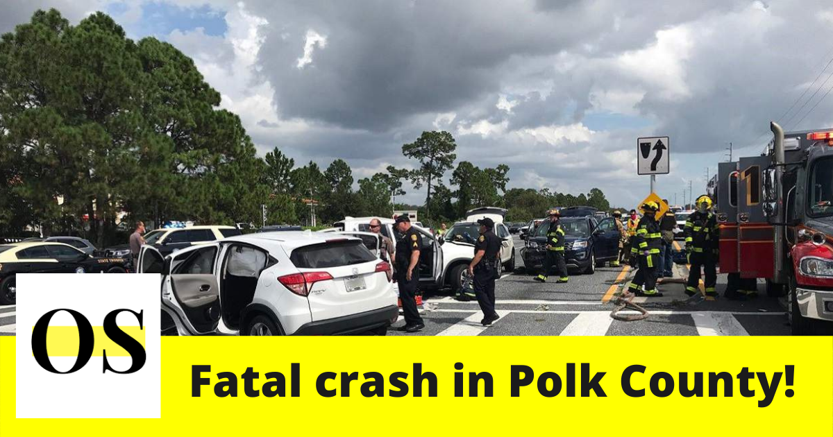 A stolen vehicle driven by a teen crashed in Polk County 1