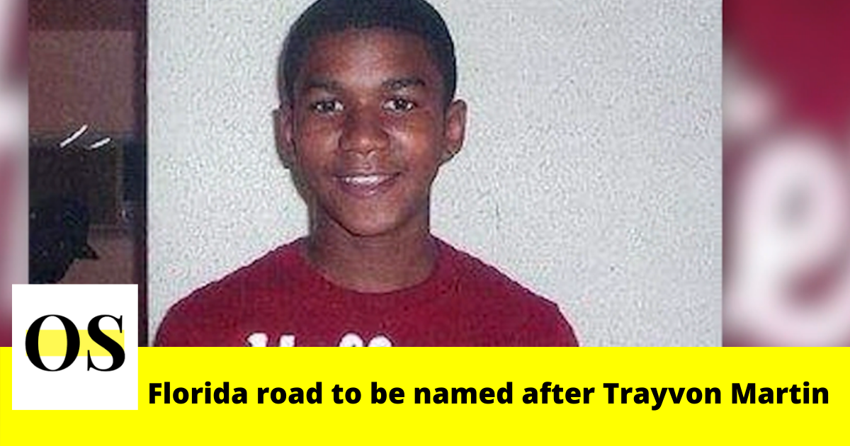 Florida road to be named after Trayvon Martin 2