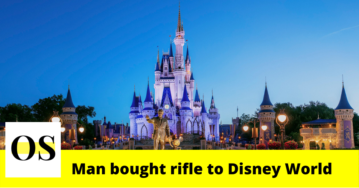 Florida man brought AR-15 rifle, handgun to Disney World 2