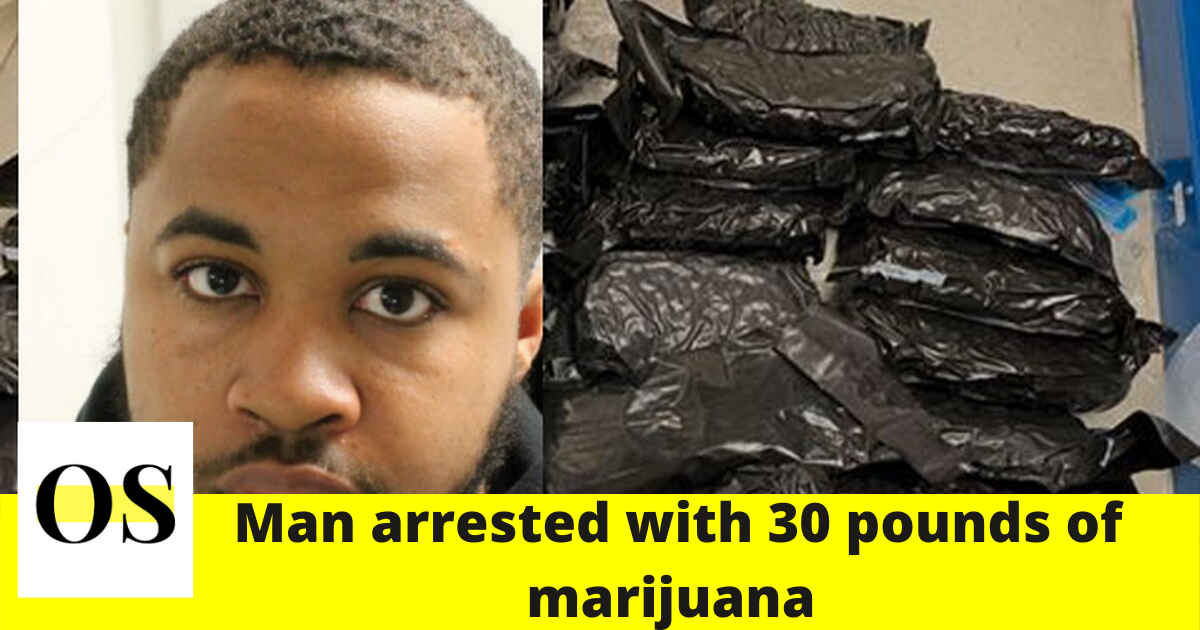 24-year-old man arrested with 30 pounds of marijuana at Tallahassee airport 1
