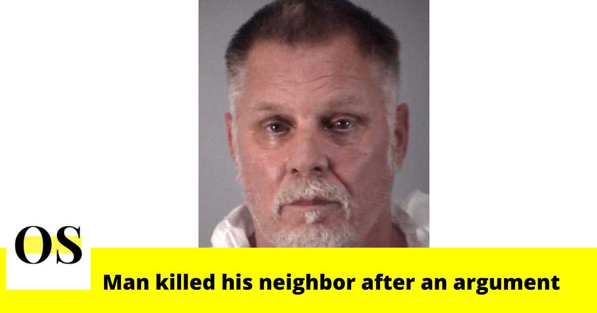 61-year-old man killed his neighbor after an argument in Leesburg 1