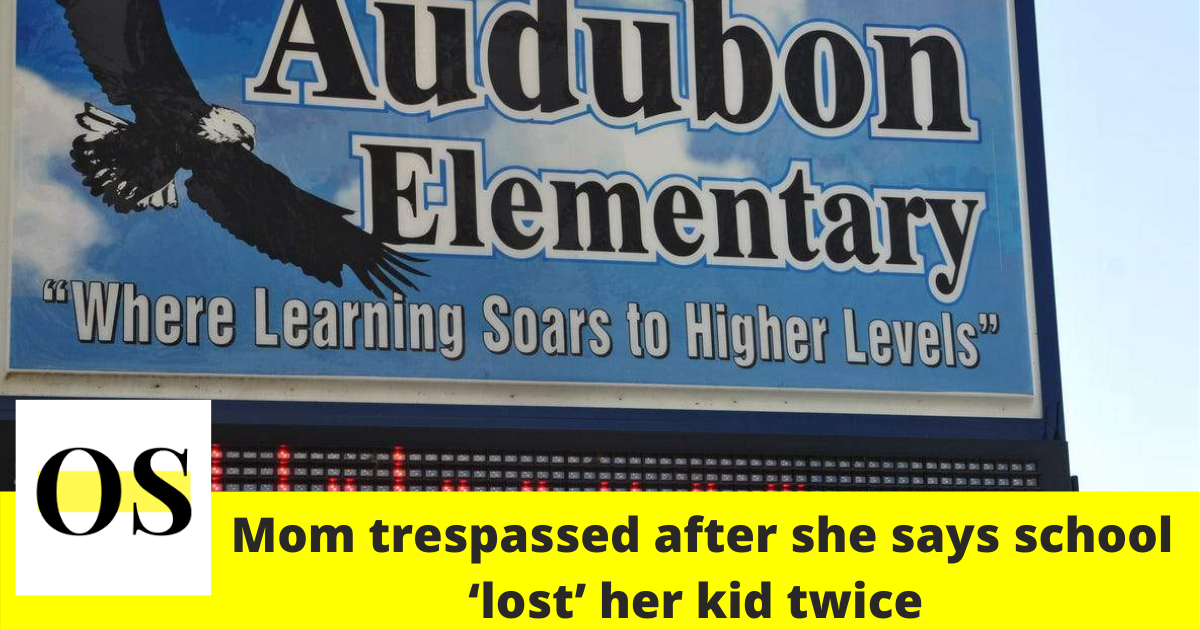 Mom trespassed after she says Audubon Elementary 'lost' her kid twice 3