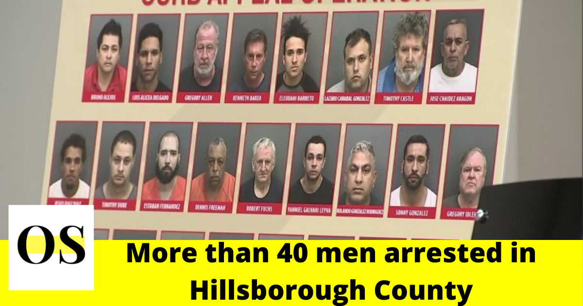 Police arrested more than 40 men in Hillsborough County 2