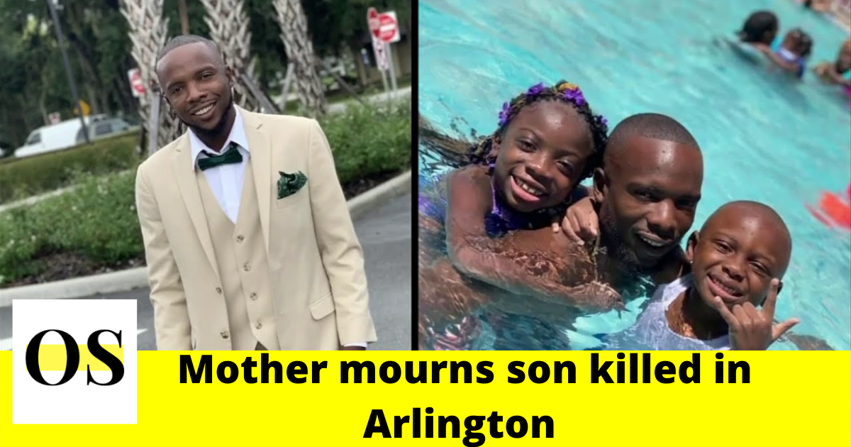 mourns son killed in Arlington