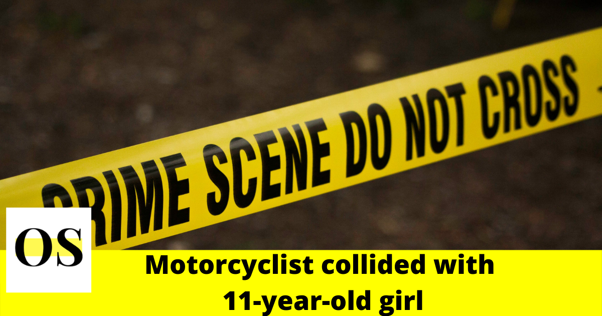Motorcyclist collides with 11-year-old girl on bicycle on Port St. John 1