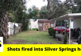 """""""It could've killed my child. Over what?""""; shots fired into Silver Springs home 2"""