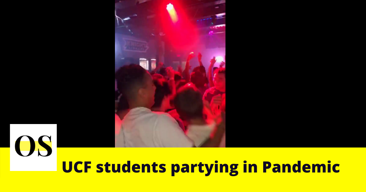 UCF students are seen partying despite covid-19 and putting other students' life at danger [Video] 7