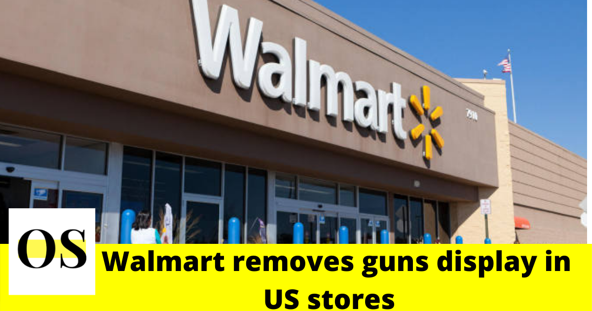 Walmart removes guns, ammo displays in U.S. stores 2