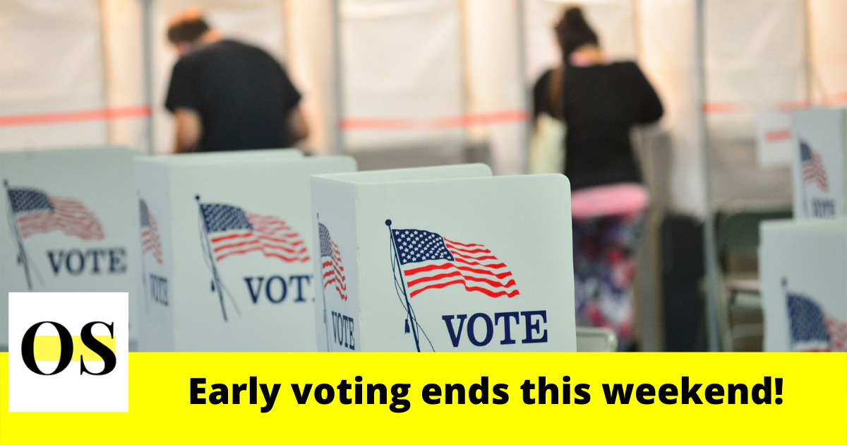 Early voting ends this weekend in Central Florida 1
