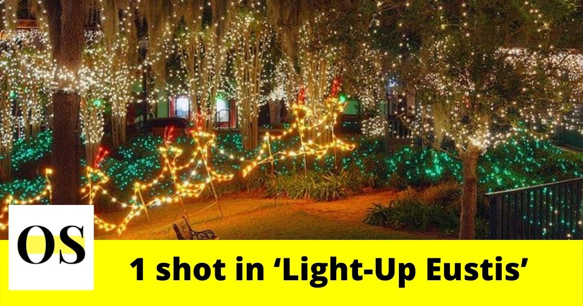 1 injured in a shooting that happened in 'Light-Up Eustis' event 10