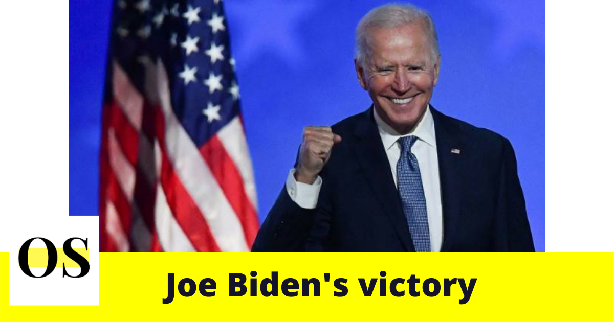 What is your reaction on Joe Biden's Victory?; Election 2020 7
