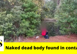 Naked dead body found inside container in a pond in Jacksonville 1