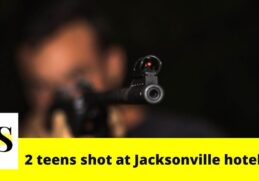2 teens shot in drive-by shooting at Jacksonville hotel 12