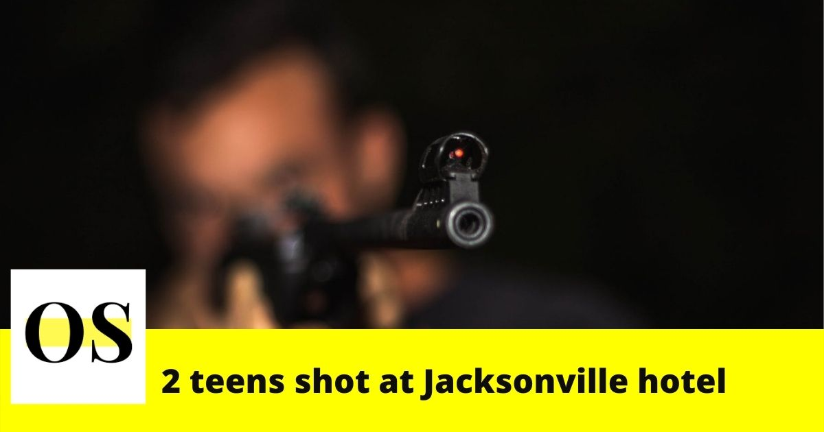 2 teens shot in drive-by shooting at Jacksonville hotel 3
