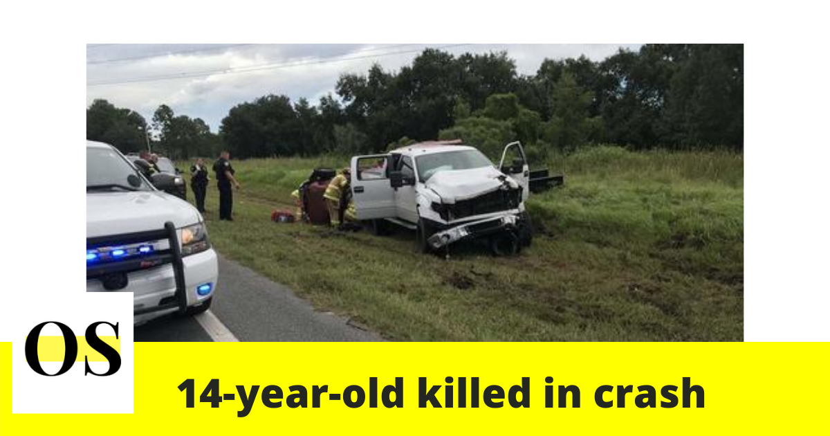 14-year-old killed in a crash in Eustis