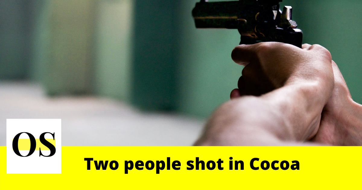 Two people shot in Cocoa, deputies say 1