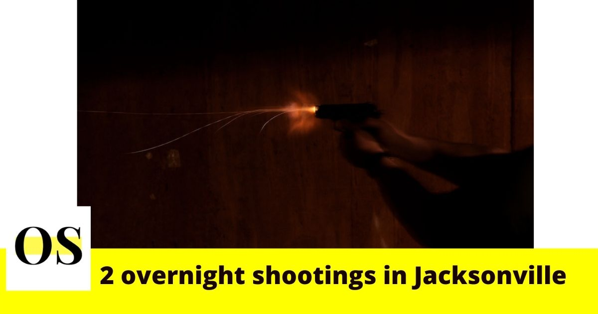 2 shootings happened overnight in Jacksonville 2
