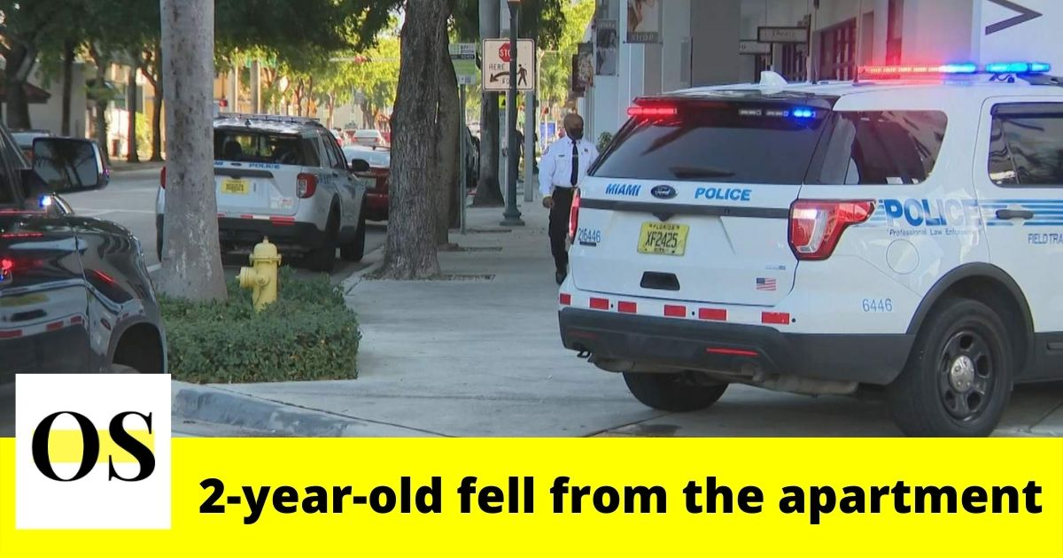 2-year-old fell from 4th floor apartment in Miami 1