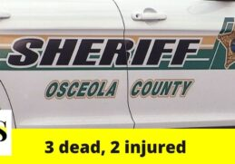 3 dead, 2 injured in a crash in Osceola County 6