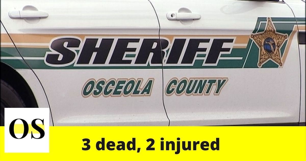 2 injured in a crash in Osceola County