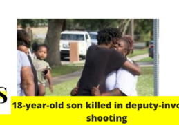 """""""I'm not going to stop until I get justice""""; mother say 18-year-old son was killed in deputy-involved shooting in Cocoa 5"""