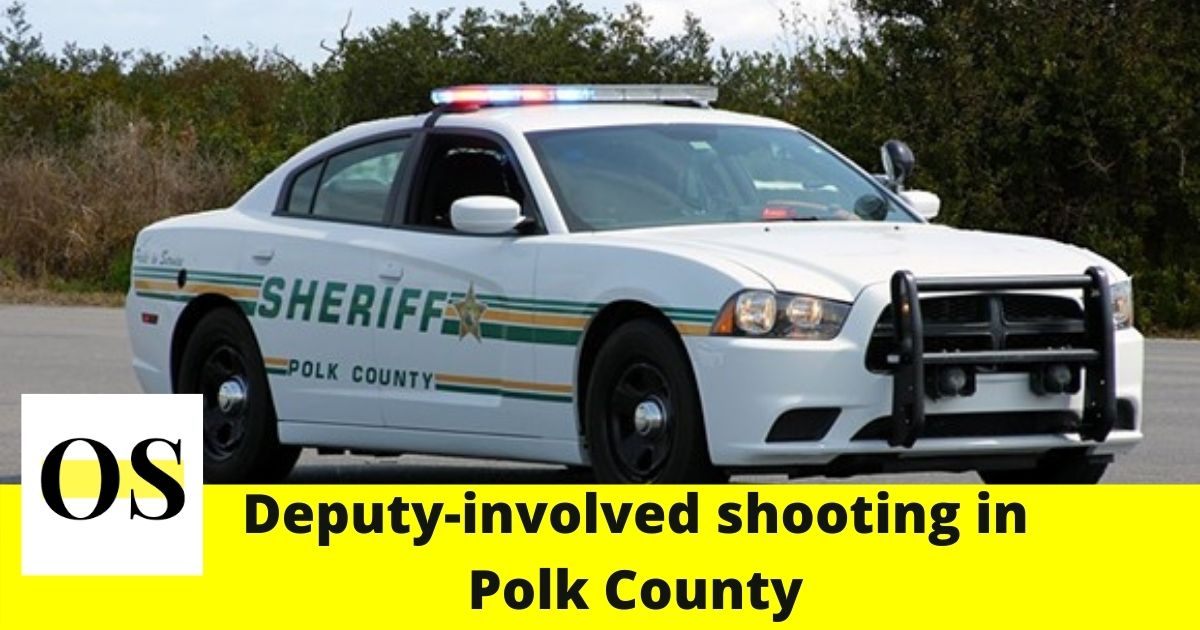 A deputy injured and the suspect hospitalized in Polk County shooting 1