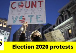 Donald Trump supporters gather in Phoenix, Las Vegas; Election 2020 Protests 3