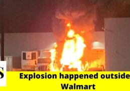 Explosion outside a Walmart led tractor-trailers on fire in Brooksville 2