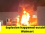 Explosion outside a Walmart led tractor-trailers on fire in Brooksville 3