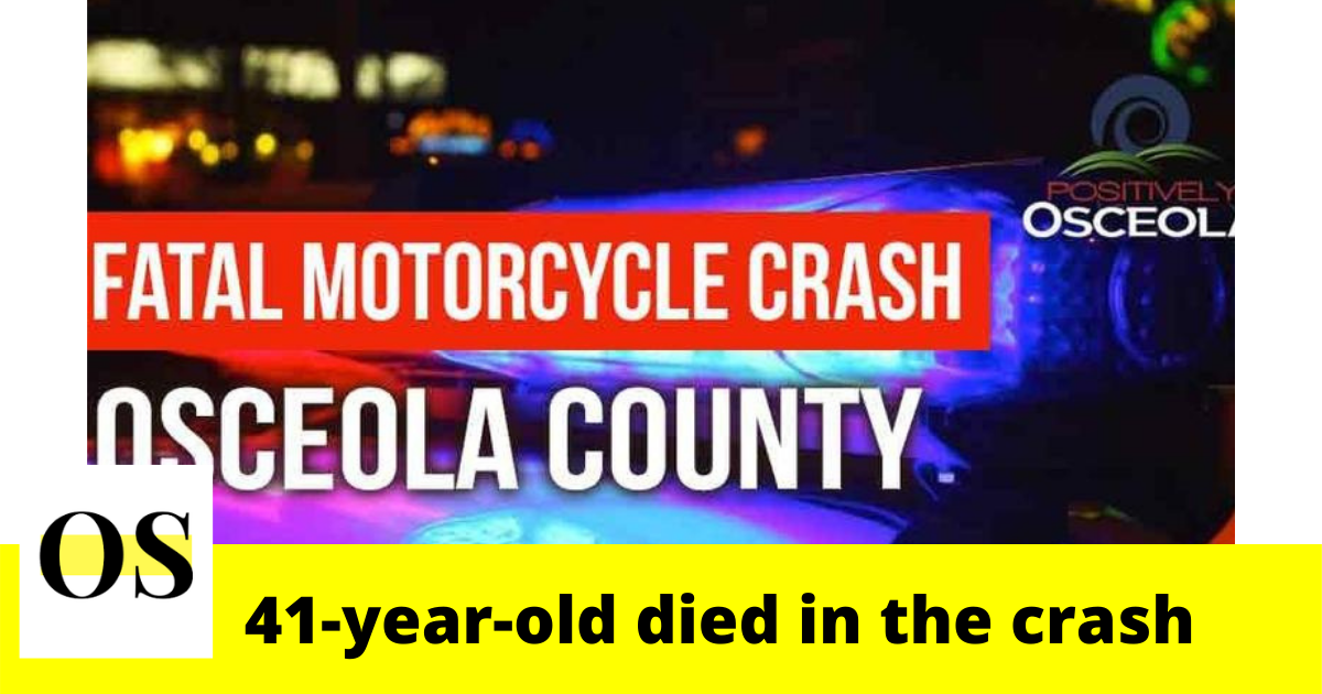 41-year-old Orlando man died in a crash in Kissimmee 2