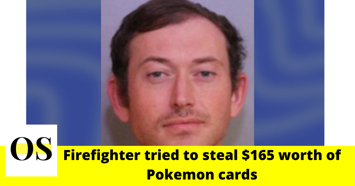 steal $165 worth of Pokemon cards