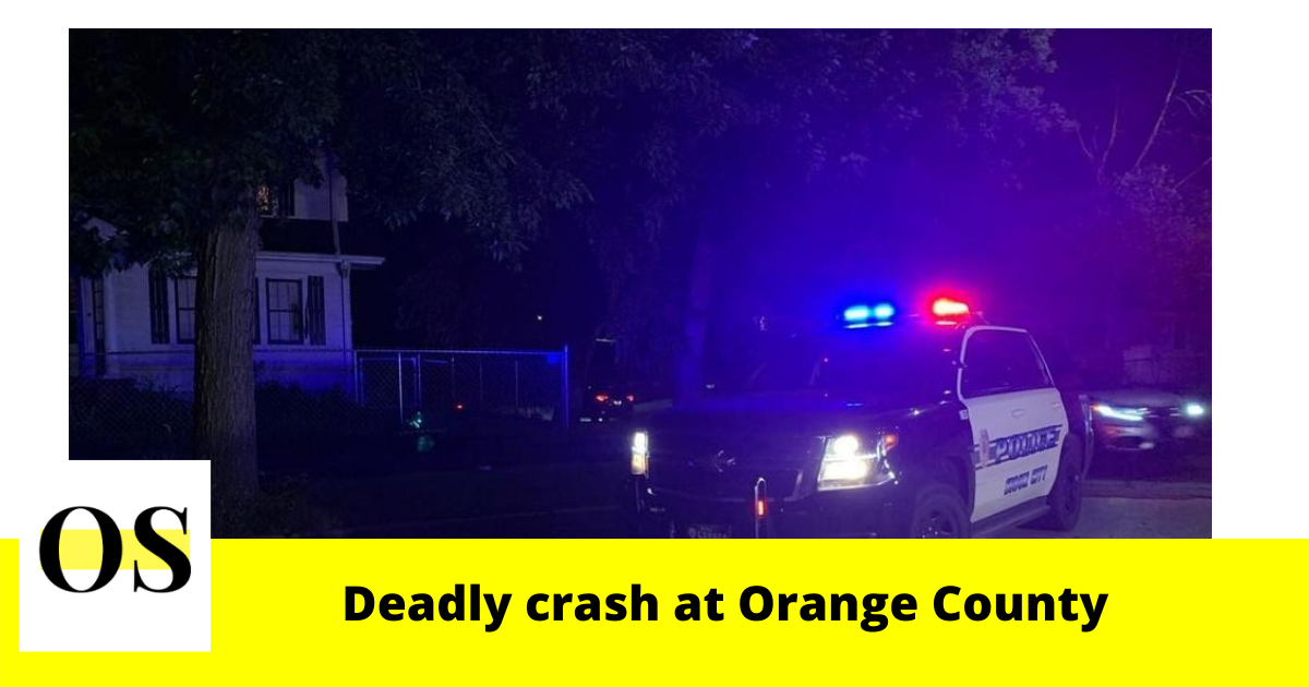 1 dead in a crash in southeast Orange County 1