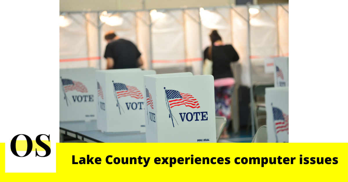 Lake County experiences computer issues on Election Day 7