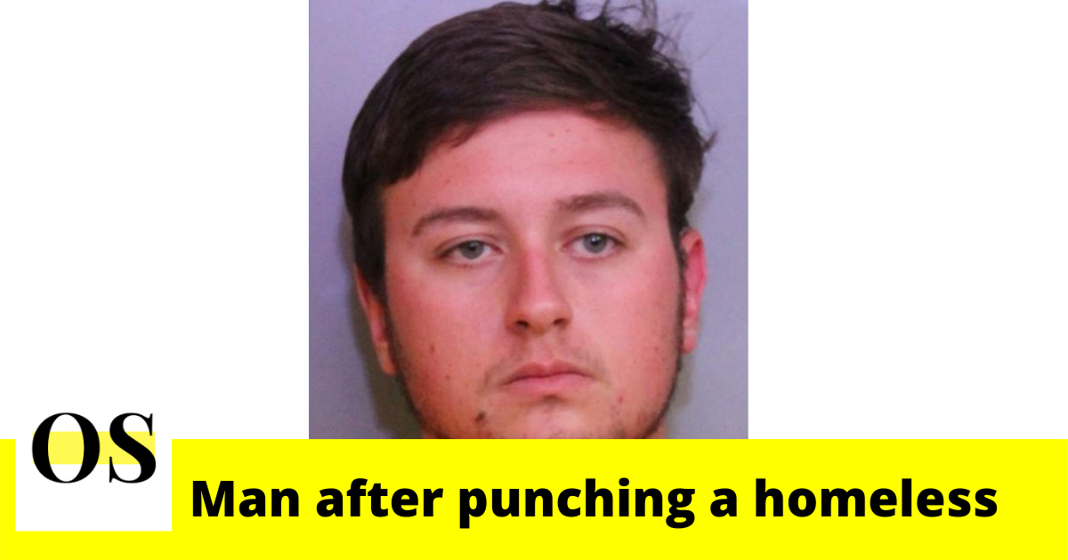21-year-old man arrested after punching homeless man in Polk County 1