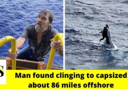 Missing 62-year-old found clinging to capsized about 86 miles offshore 2