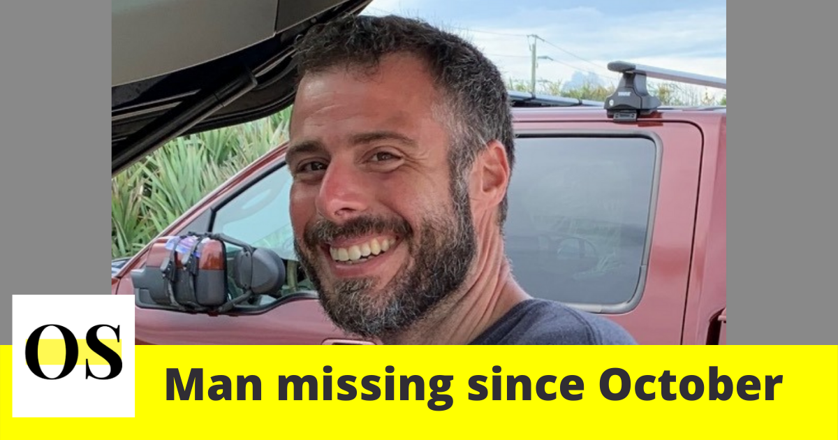 man missing since October from