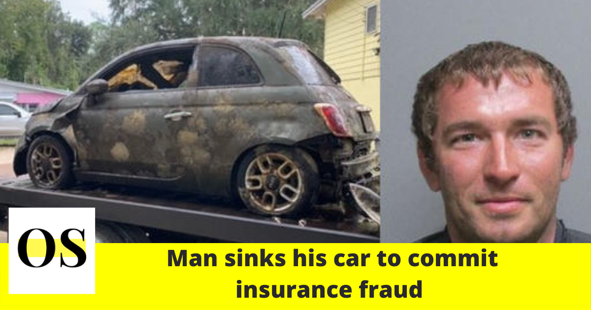 Man accused of sinking car to commit insurance fraud in Flagler County 1
