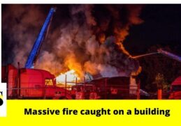 80 firefighters working massive fire at Jacksonville trucking company 2