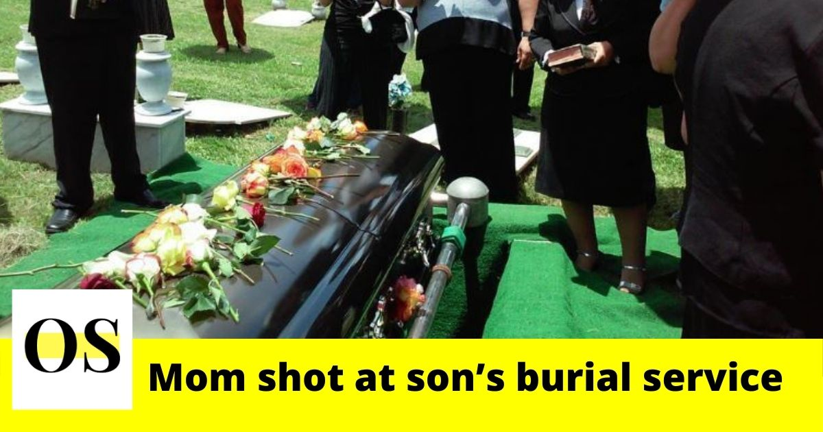 Mom shot at son's burial service in Cocoa 1