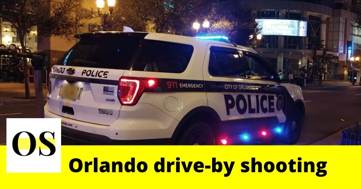 Man sitting in his car was shot at an Orlando home 1