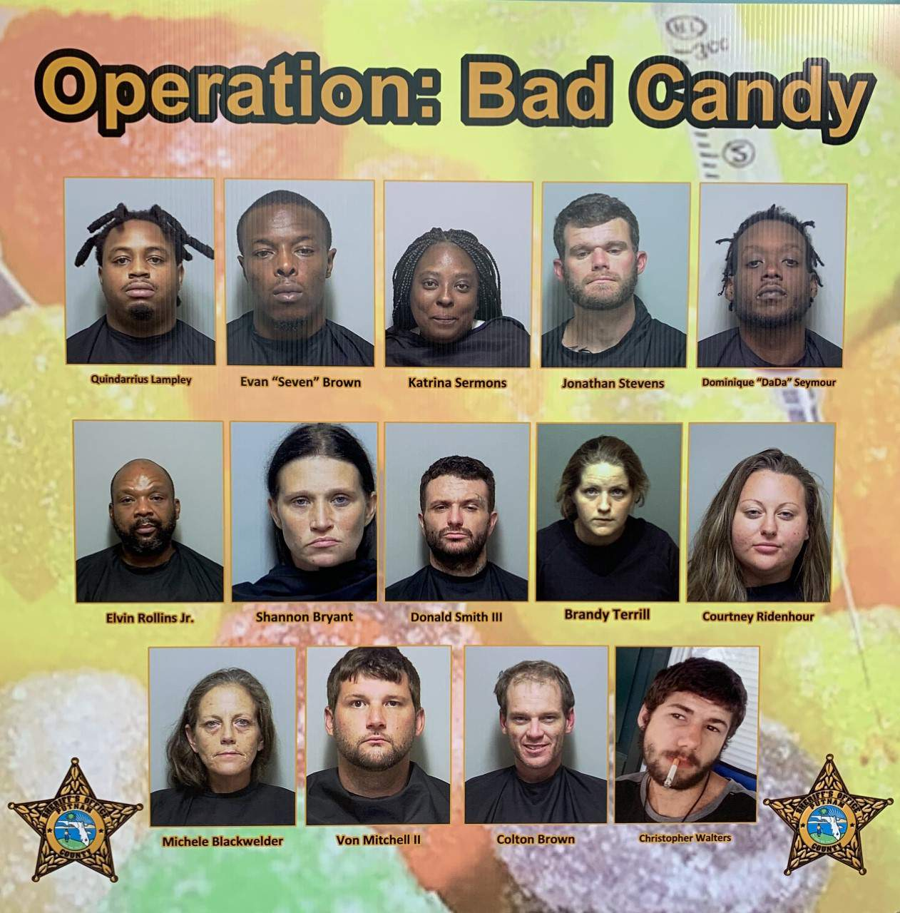 "9 people arrested in operation ""Bad Candy"" in Putnam County 2"
