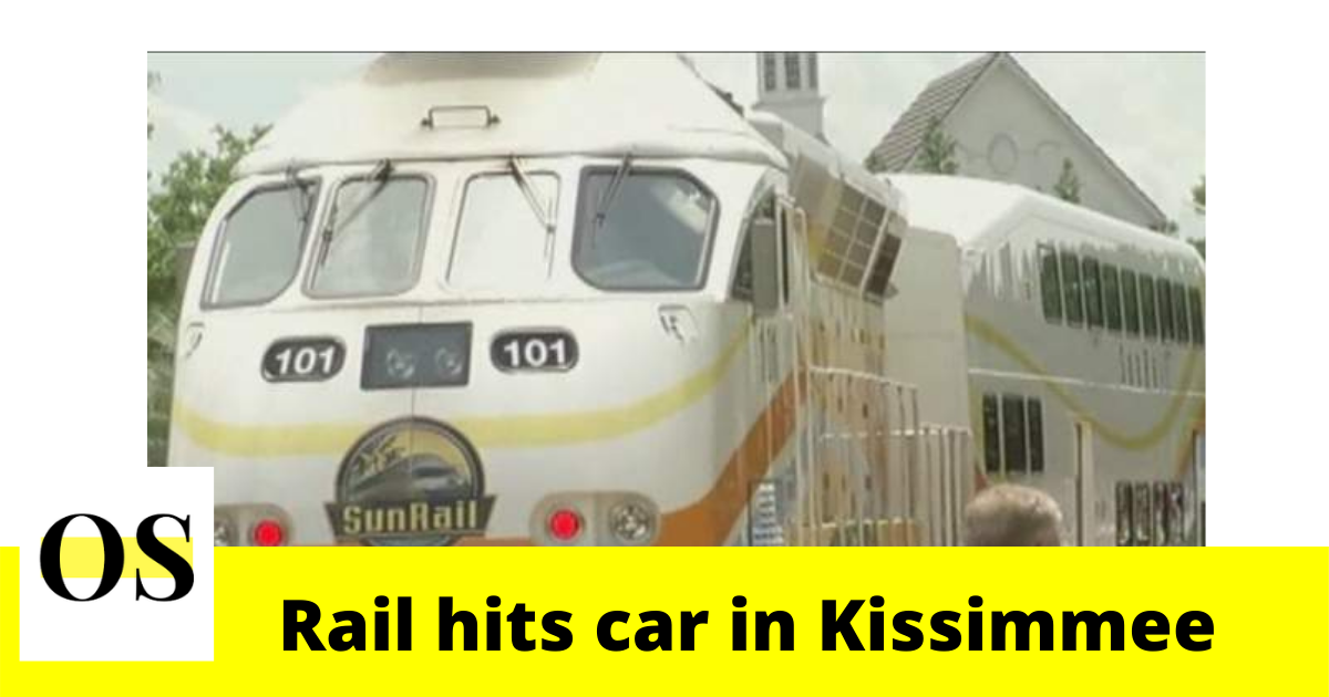 Breaking: A SunRail strikes car in Kissimmee 2